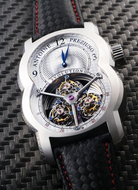 3volution II Kevlar Antoine Preziuso часы