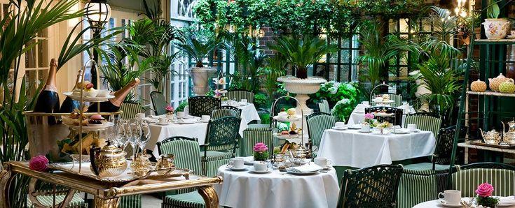 Afternoon tea Chesterfield Mayfair