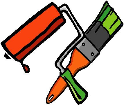 Painting Tools Clipart