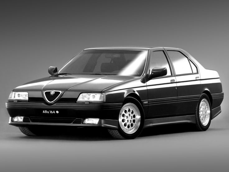 1990 ALFA ROMEO 164 3.0i V6 QUADRIFOGLIO VERDE