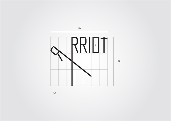 RRRIOTshop - concept store & independent clothing label by Stefania Capellupo, via Behance