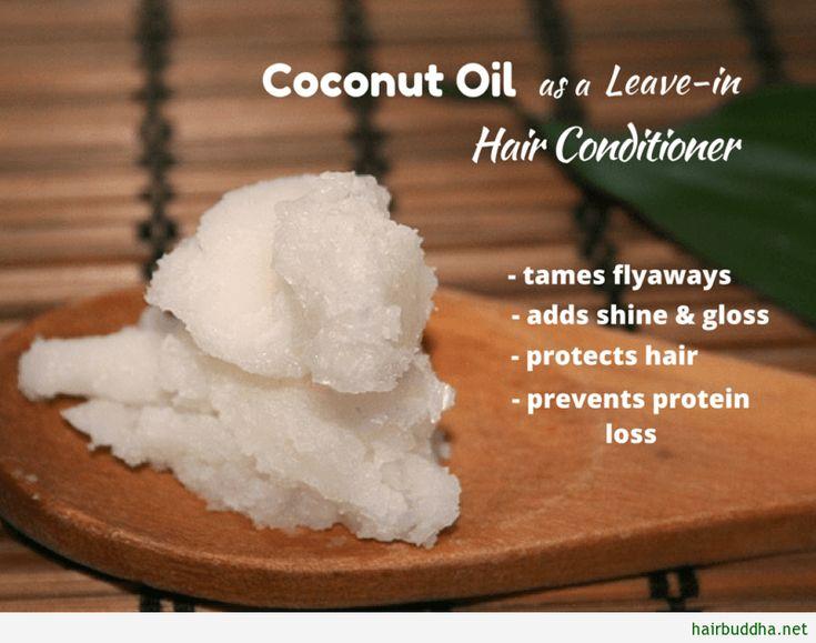 Huile de coco comme conditionneur sans rinçage: remède naturel …