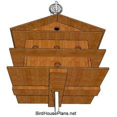 Free Purple Martin House Plan