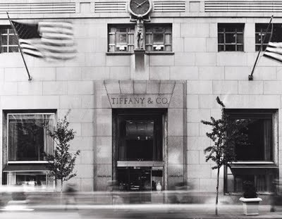 Black and white Tiffanys
