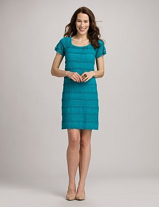 Turquoise Lace Dress | Dressbarn