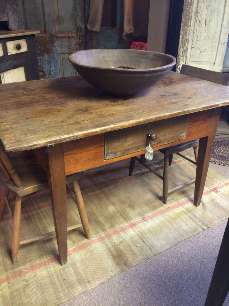 early 1790s pa hepplewhite country primitive tavern work table aafa   ebay 37 best primitive tables images on pinterest   primitive tables      rh   pinterest com