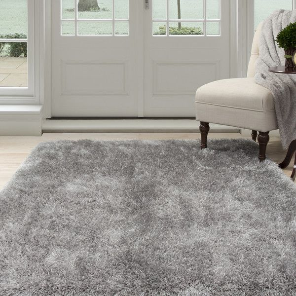 Windsor Home Shag Area Rug ($206) ❤ Liked On Polyvore Featuring Home, Rugs