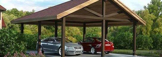 Навесы для авто - Нева-Полимер - заборы, металлические конструкции - 945-52-53
