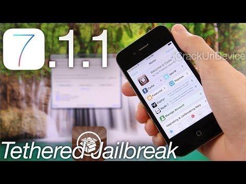 ใหม่ Jailbreak iOS 7.1.1 กึ่งครับ iPhone 4, GeekSn0w ของ Windows และ Cydia