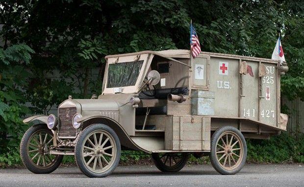 1917 Ford Model T Ambulance WWI