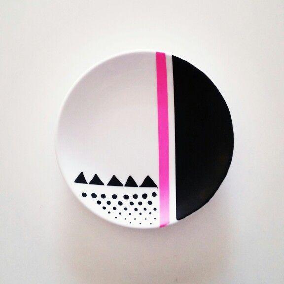 tányér festés / plate painting