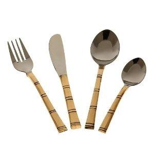 Cucharas de India vajilla vajillas tenedor y cuchillo cubiertos set de cubiertos: Amazon.es: Hogar