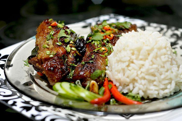 ... thai garlic spareribs recipes yummly thai bbq spare ribs at thai ocha