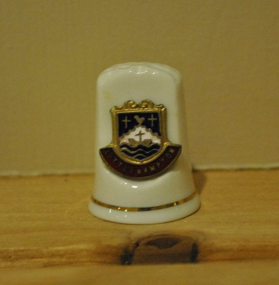 Vintage Littlehampton town crest  Sheild  by TheVintageCoopUK