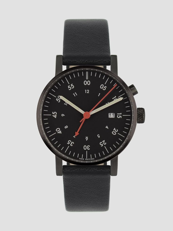 V03A is a minimalist watch designed by Sweden-based designer David Ericsson for VOID. High quality materials such as stainless steel and premium leather were used to construct this range of timepieces. The analog display uses Japan Quartz Miyota Movement, and has a metal ring that encircling the dial in order for the crystal to be as thin as possible. (6)