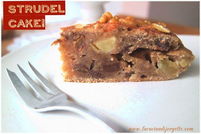 la cucina di Jorgette: VEGAN STRUDEL CAKE!!!