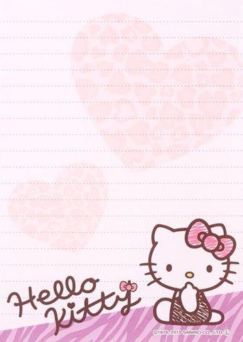 Kawaii memo paper - Hello Kitty Sanrio
