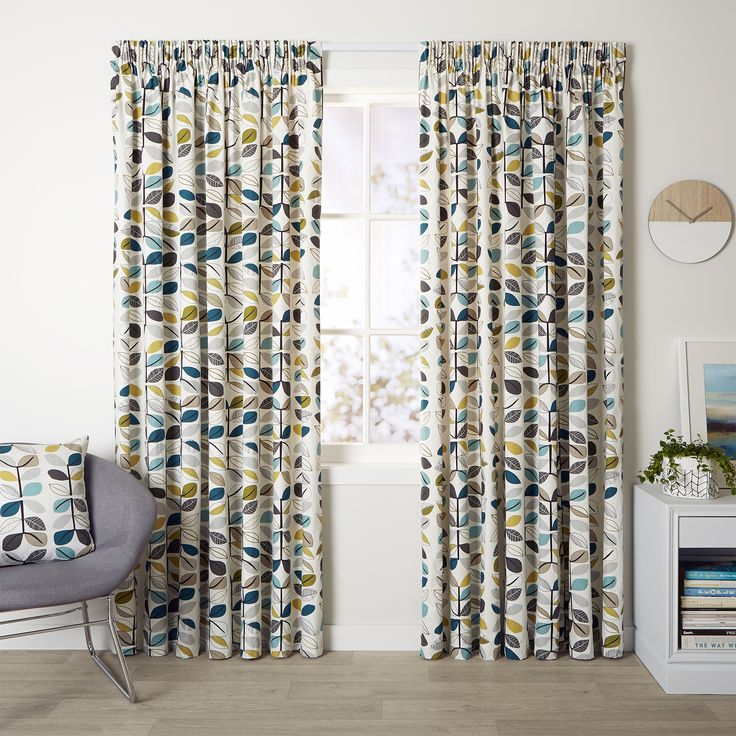 Matakana Pacific - Readymade Thermal Pencil Pleat Curtain - Curtain Studio buy curtains online