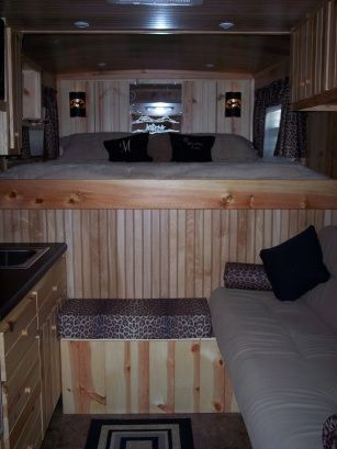 Custom Trailer Remodel Lots Of Good Ideas And Pictures