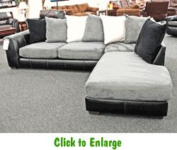 Idol Steel Sectional by Affordable at Furniture Warehouse | The $399 ...