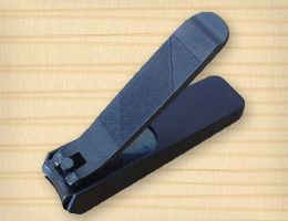 Kiya nail clipper made in Japan made of steel black