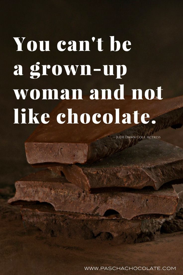 Chocolate makes you smile - no matter your age. Pure, delicious organic chocolate will make you giddy.