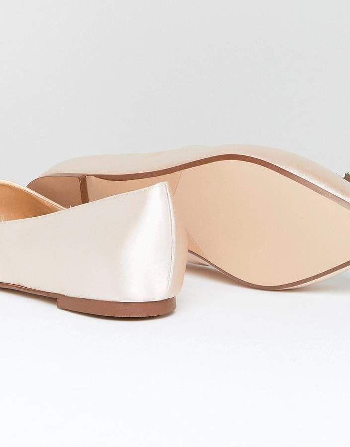 43f3c8581 Dune London Dune Bridal Bridal Exclusive Briella Embellished Flat Shoes   Bridal Exclusive Dune