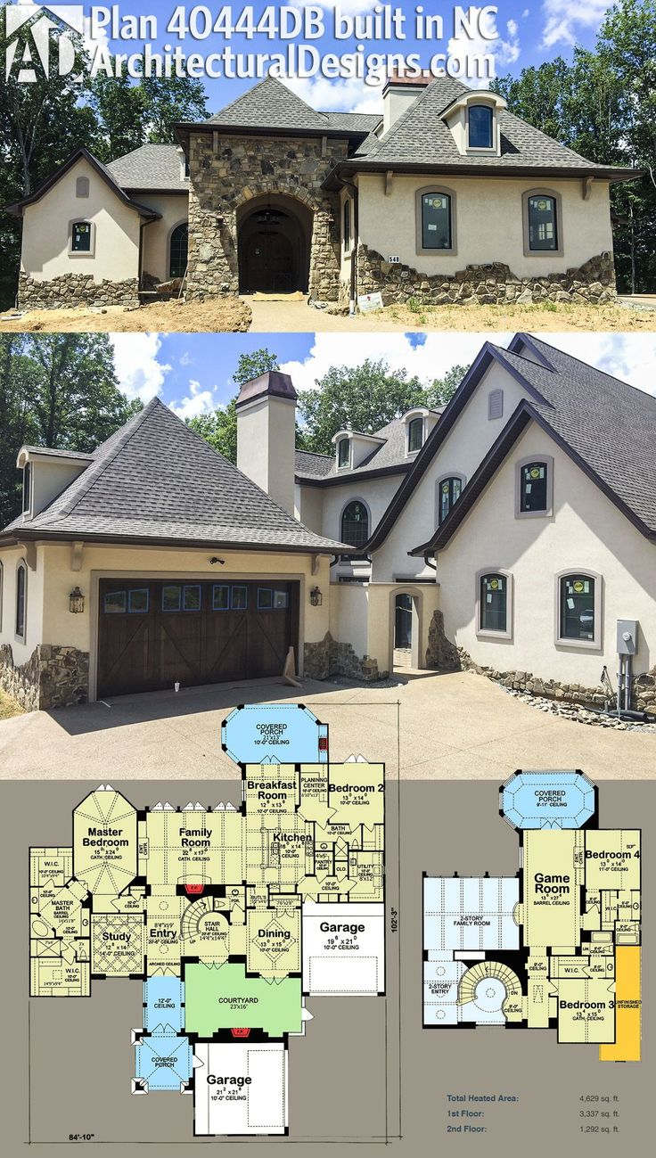 Our client built and modified Architectural Designs