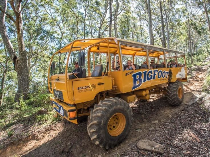 Ride to the summit of Mt Coolangatta! Operates from the Coolangatta Estate near Shoalhaven Heads, NSW. Bigfoot Adventures NSW is an amazing experience for all ages. A huge 4WD open sided tractor-bus carries tourists on a one-hour tour up to 1000ft elevation on the historic property of Coolangatta Estate. The tour highlight is definitely an … Continue reading Bigfoot Adventures