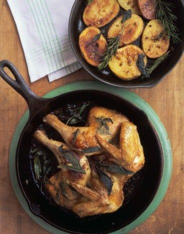 Жареная курица с чили и базиликом