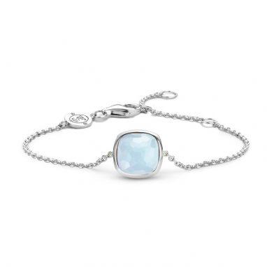 Ti Sento 2802LB dames armband van zilver - Trendjuwelier