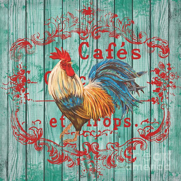 I uploaded new artwork to plout-gallery.artistwebsites.com! - 'Cafe Rooster on Aqua' - http://plout-gallery.artistwebsites.com/featured/cafe-rooster-on-aqua-jean-plout.html via @fineartamerica