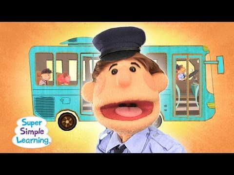 The Wheels On The Bus | Super Simple Songs - YouTube