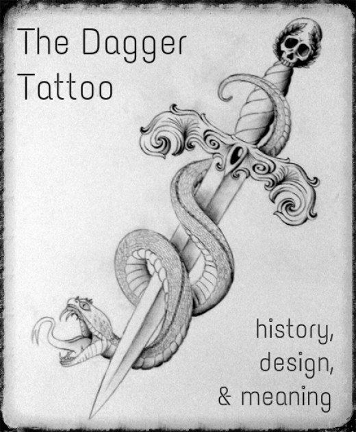 Considering a dagger tattoo? Read on to discover what it means, what the design options are, and to see many photos.