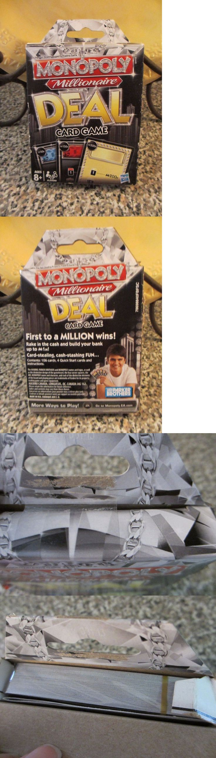 Other Card Games and Poker 2552: Parker Brothers Monopoly Millionaire Deal Card Deal 2011 Made In Usa -> BUY IT NOW ONLY: $32.99 on eBay!