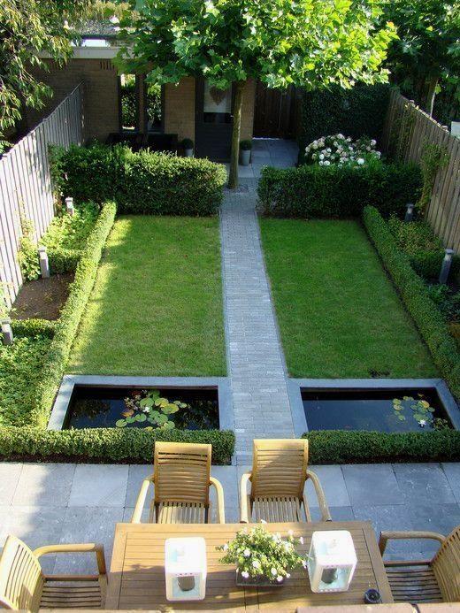 Dise os de patios y jardines jardines fotos decoracion de for Arbolitos para jardines pequenos