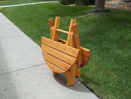 Diy Folding Adirondack Chair Plans Woodworking Projects