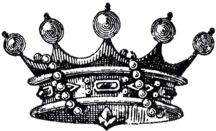 Vintage Crown with Pearls Image