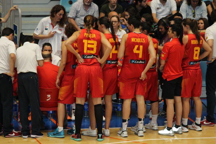 Baloncesto - Huelva 2015 - Tiempo Muerto - Foto Anesmar