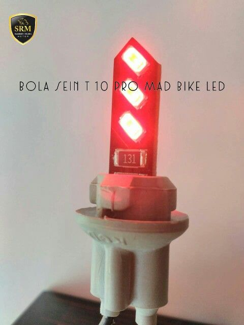 Bola Sein T 10 Pro Mad Bike LED IDR 35.000,-/Set