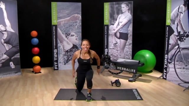 Can't get to the gym?  You can still workout using this High Intensity Workout from Samantha Clayton.  But first make sure to fuel up with Herbalife 24 Prepare. https://www.goherbalife.com/shedpounds/en-US/Catalog/Energy-Fitness/Herbalife24  Adequate oxygen reaching working muscles enables performance. Prepare's nitric oxide (NO) precursor system supports oxygen delivery to working muscles. Creatine supports the fast-twitch muscle contraction required for explosive athletic movement…