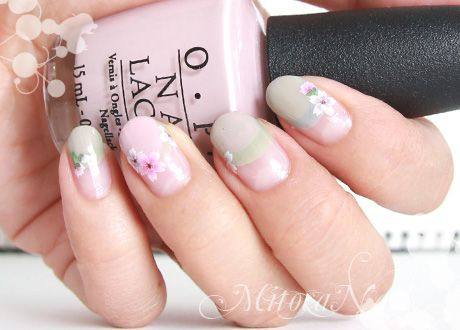 French perfectly round cherry nail 2013 Kusumi cream