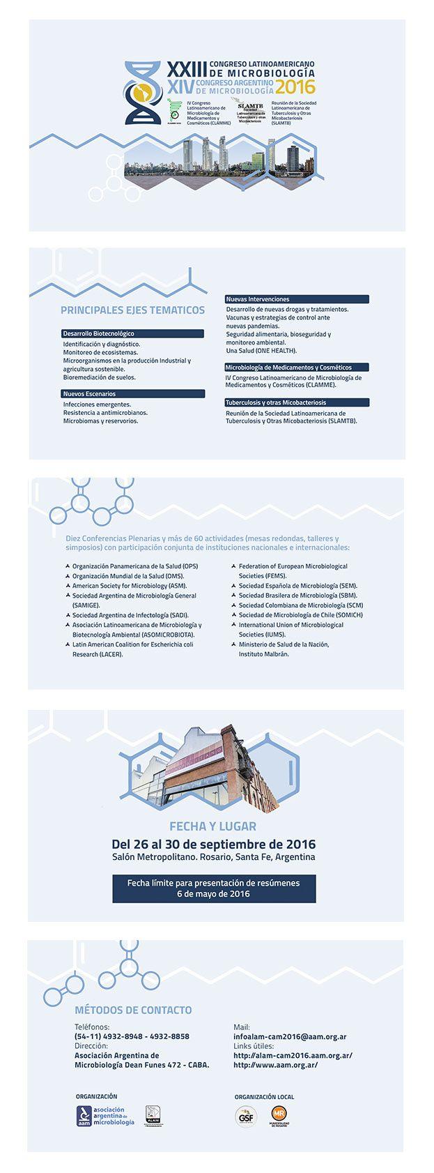 Diapositivas para Congreso de Microbiología (ppt), 2016. Made by me.