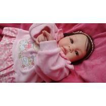 Bebê Reborn Menina Com Enxoval. Promoção