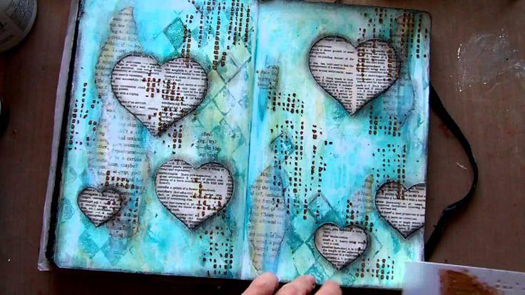 Art Journal Calendar Tutorial : Best images about art journaling on pinterest
