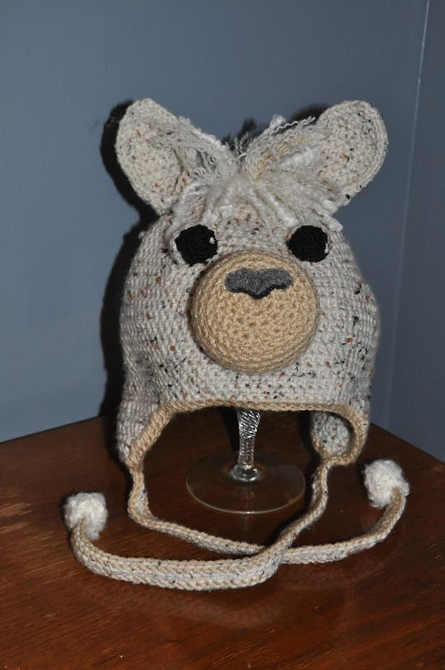 Crochet Llama Alpaca Hat By Deeanimals Deanna Croteau