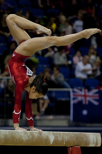 plus 1/4 the moment when you can't believe that you are living millions of girls dreams. Ivana Hong | moved from Kythoni's Gymnastics: The Balance Beam board: https://pinterest.com/kythoni/gymnastics-the-balance-beam/