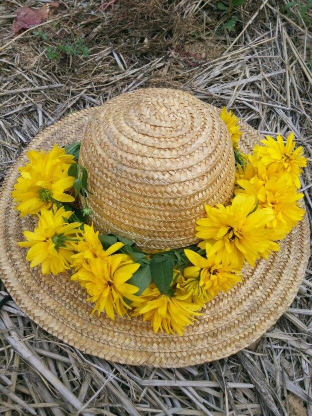 노란 꽃 이름은 모르며 만들어 보았습니다.