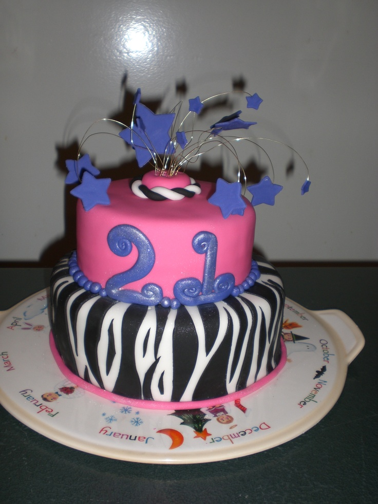 159 Best 21st B Day Cakes Images On Pinterest