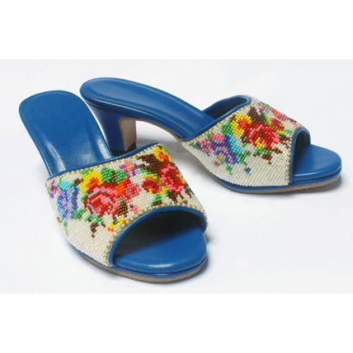 Beaded Peranakan slipper